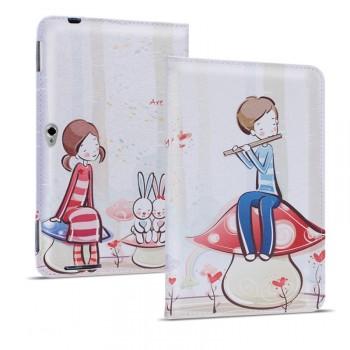 Дизайнерский принтованный чехол подставка с отделением для карты для Huawei MediaPad M2 10