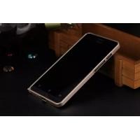 Металлический бампер для ASUS Zenfone 5 Серый