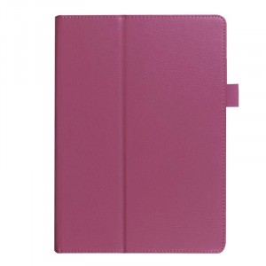 Чехол подставка с рамочной защитой экрана для Huawei MediaPad M2 10 Фиолетовый