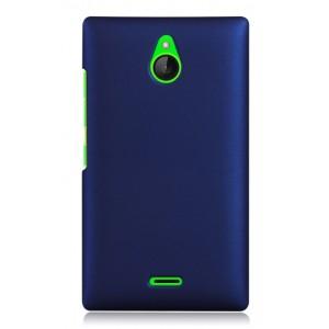 Пластиковый чехол для Nokia X2 Синий