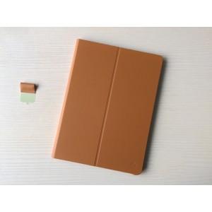 Оригинальный кожаный смарт чехол подставка на поликарбонатной основе для Huawei MediaPad M2 10 Коричневый