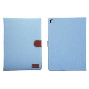 Чехол портмоне подставка с застежкой и тканевым покрытием для Ipad Pro 9.7