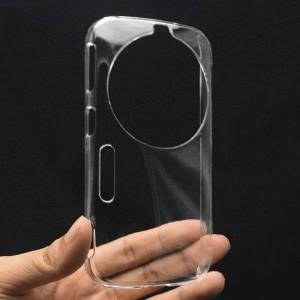 Пластиковый транспарентный чехол для Samsung Galaxy K Zoom