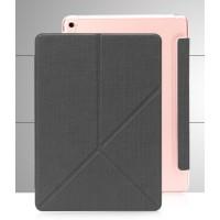 Чехол подставка серия Origami на полупрозрачной поликарбонатной основе для Ipad Pro 9.7 Черный
