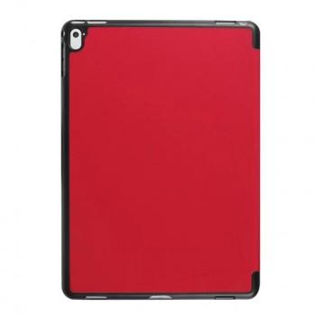 Чехол флип подставка сегментарный на поликарбонатной основе для Ipad Pro 9.7 Красный