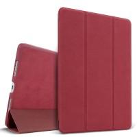Винтажный чехол подставка сегментарный на поликарбонатной основе для Ipad Pro 9.7 Красный