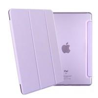Чехол флип подставка сегментарный на поликарбонатной полупрозрачной основе для Ipad Pro 9.7 Фиолетовый