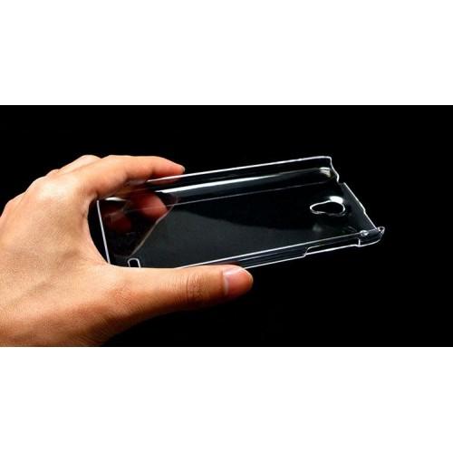 Пластиковый транспарентный чехол для Lenovo S890