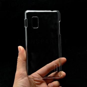 Пластиковый транспарентный чехол для LG Optimus G