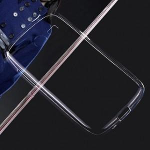 Пластиковый транспарентный чехол для Samsung Galaxy Trend Lite