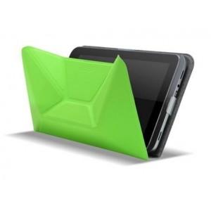 Оригинальный чехол подставка оригами для Acer Iconia W4 Зеленый