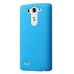 Пластиковый чехол серия Metallic для LG G3 S Голубой