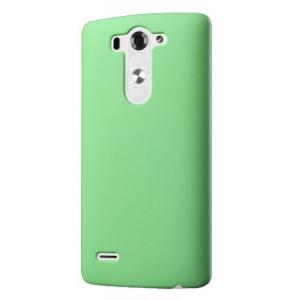 Пластиковый чехол серия Metallic для LG G3 S Зеленый