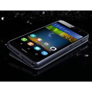 Чехол флип на пластиковой нескользящей премиум основе для Huawei Honor 4C Pro