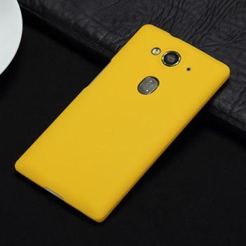 Пластиковый чехол для Acer Liquid E3 Желтый