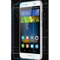 Ультратонкое износоустойчивое сколостойкое олеофобное защитное стекло-пленка для Huawei Honor 4C Pro