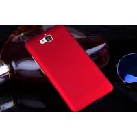 Пластиковый матовый непрозрачный чехол для Huawei Honor 4C Pro Красный