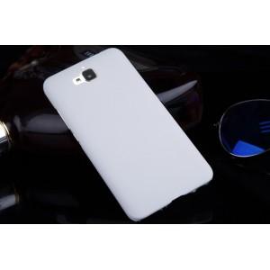 Пластиковый матовый непрозрачный чехол для Huawei Honor 4C Pro Белый