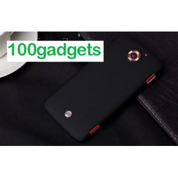 Пластиковый матовый чехол для Acer Liquid S2 Черный