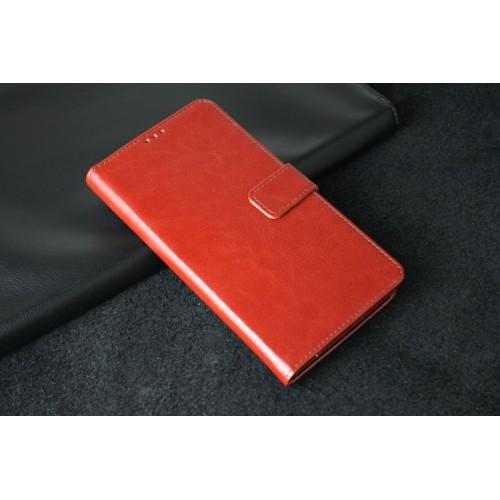 Чехол портмоне подставка на пластиковой основе для Acer Liquid S2