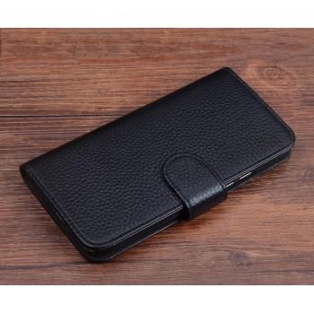 Кожаный чехол горизонтальная книжка (нат. кожа) с магнитной защелкой для Huawei Honor 4C Pro