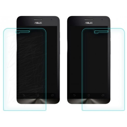 Ультратонкое износоустойчивое сколостойкое олеофобное защитное стекло-пленка для ASUS Zenfone 5