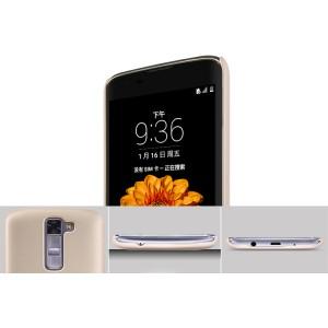 Пластиковый матовый нескользящий премиум чехол для LG K7