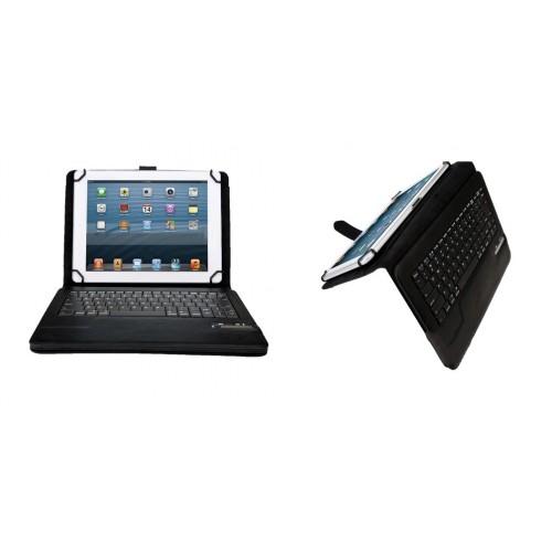 Кожаный чехол подставка (нат. кожа) с Bluetooth клавиатурой (English version) для планшета Acer Iconia A3