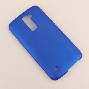 Пластиковый матовый непрозрачный чехол для LG K10