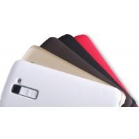 Пластиковый матовый нескользящий премиум чехол для LG K10