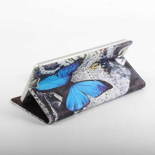 Дизайнерский чехол флип подставка с полноповерхностным принтом на клеевой основе для Oukitel K6000