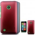 Пластиковый чехол серия Metallic для Nokia Lumia 530