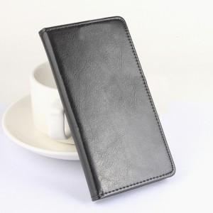 Глянцевый чехол флип подставка с отделениями для карт на клеевой основе для Oukitel K6000