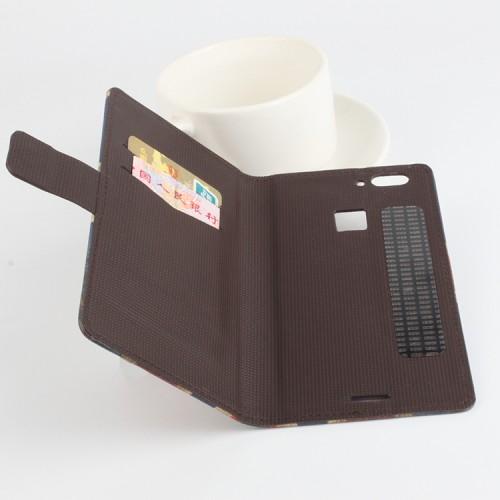 Чехол портмоне подставка на клеевой основе с магнитной застежкой и полноповерхностным принтом для Umi Iron Pro