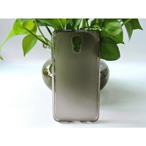 Силиконовый матовый полупрозрачный чехол для LG X view