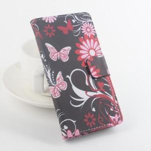 Чехол портмоне подставка на клеевой основе с магнитной застежкой и полноповерхностным принтом для Umi Rome