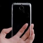 Пластиковый транспарентный чехол для HTC Desire 510