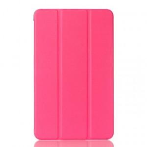 Чехол флип подставка сегментарный для Samsung Galaxy Tab A 7 (2016) Розовый