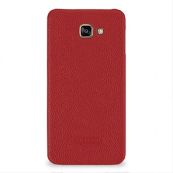 Кожаный чехол накладка (нат. кожа) для Samsung Galaxy A9