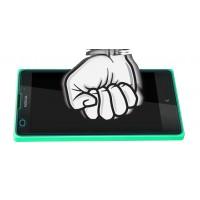 Ультратонкое износоустойчивое сколостойкое олеофобное защитное стекло-пленка для Nokia XL