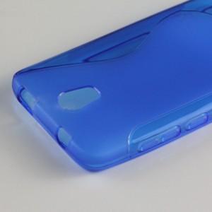 Силиконовый S чехол для Micromax Bolt Q335 Синий