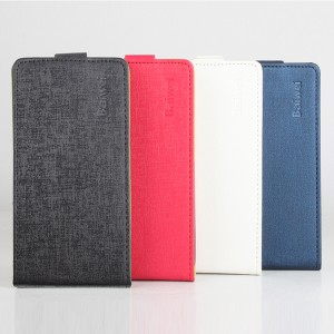Текстурный чехол вертикальная книжка на клеевой основе для Oukitel K4000
