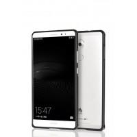 Металлический бампер для Huawei Mate 8 Черный