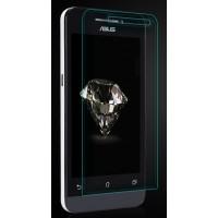 Ультратонкое износоустойчивое сколостойкое олеофобное защитное стекло-пленка для ASUS Zenfone 4 (A400CG)