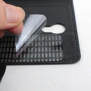 Чехол портмоне на клеевой основе с магнитной застежкой для Lenovo Vibe S1