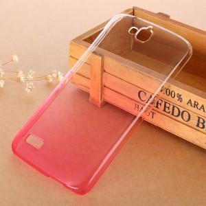 Пластиковый градиентный полупрозрачный чехол для Huawei Honor 3C Lite