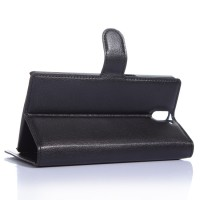Чехол портмоне подставка с защелкой для OnePlus One Черный