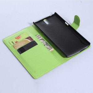 Чехол портмоне подставка с защелкой для OnePlus One