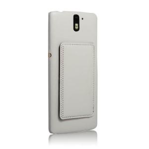 Дизайнерский чехол накладка с отделениями для карт и подставкой для OnePlus One