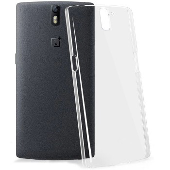 Пластиковый транспарентный чехол для OnePlus One